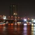 チャオプラヤー川の夜景