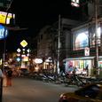 チャウエンの繁華街