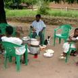マチヤ家での昼食会