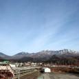早春の日光連山