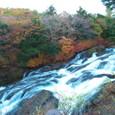 竜頭滝中部の紅葉