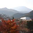 日光の紅葉と男体山