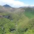 明智平からの大真名子山と女峰山