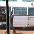 バスになった救急車