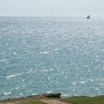 レストランから見たザンジバル海峡